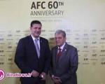 علی دایی و همایون بهزادی در تالار مشاهیر آسیا/عکس