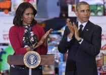 اوباما به جای خدمتکار اشتباه گرفته شد!