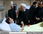 بازدید سرزده رئیس جمهور از بیمارستان بهارلو/ تصاویر