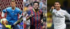 فینالیست های توپ طلا مشخص شدند: رونالدو، مسی و نویر