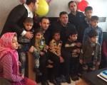 علی دایی به دیدار کودکان مبتلا به ایدز رفت/عکس