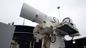 آزمایش سلاح لیزری جدید آمريكا در خلیجفارس