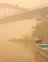 باران آلوده در خوزستان دلیلِ تنگینفس مردم