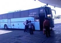 اتوبوسی برای جابه جايی مسافران در شهرها وجود ندارند