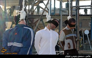 اعدام 3 متجاوز به عنف در طرقبه شانديز/ تصاویر