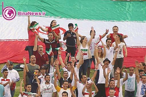 زنان ایران در جام ملتهای آسیا زنان ایران در استرالیا دختر ایران در استرالیا تماشاگران ایران در استرالیا iran fans in australia