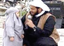 توبه دختر داعشی به خاطر تماشای کارتون باب اسفنجی