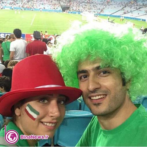 26 تماشاگران ایرانی بازی ایران با قطر در استادیوم سیدنی/تصاویر