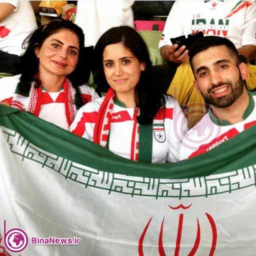 54 تماشاگران ایرانی بازی ایران با قطر در استادیوم سیدنی/تصاویر