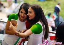 تماشاگران ایرانی جام ملتهای استرالیا 2015/ تصاویر اختصاصی بینانیوز