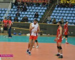 تمرینات تیم والیبال شهرداری ارومیه در غیاب سعید معروف! /تصاویر