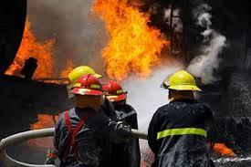 آتشسوزی کارگاهی در خیابان جمهوری