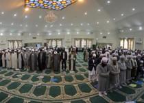 نماز جداگانه در کنفرانس «وحدت اسلامی»!/تصاویر