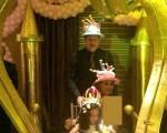 دایی و همسرش در تولد دخترش/عکس