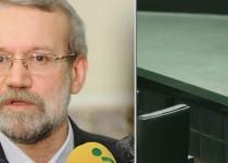 واکنش علی لاريجانی به اتفاقات مجلس