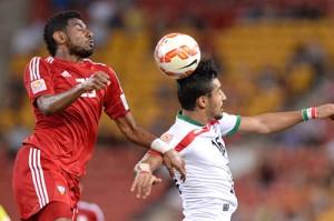 پیروزی تیم ملی فوتبال ایران برابر امارات با گل قوچاننژاد