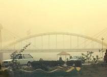 گرد و غبار شدید در اهواز و خوزستان /تصاویر