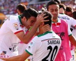 تماشاگران مسابقه فوتبال ایران و عراق + حواشی مسابقه/ ۲۸عکس
