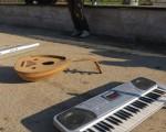 داعش و مجازات جوان نوازنده در ملاعام /تصاویر