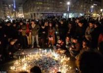 حضور سران اروپایی در راهپیمایی پاریس