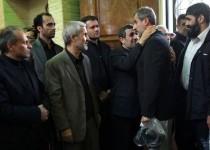 مایلیکهن در مراسم ختم مادر احمدینژاد