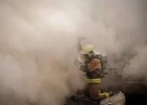 آتش سوزی مجتمع پنج طبقه در تهران