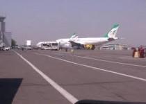 فرود هواپیمای تهران-شیراز در اصفهان و اعتراض مسافران