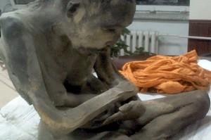 احتمال زنده بودن یک مومیایی که پس از 200 سال کشف شده است!