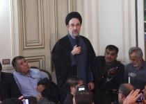 سید محمد خاتمی: مبادا برخی نارساییها سبب بدبینی به انقلاب شود