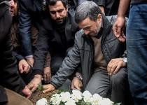 مراسم تشییع مادر دکتر احمدینژاد /تصاویر