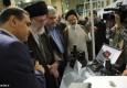 عکسهای بازدید رهبر انقلاب از نمایشگاه نانو
