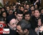 مراسم ترحیم خواهر سید محمد خاتمی در تهران/تصاویر