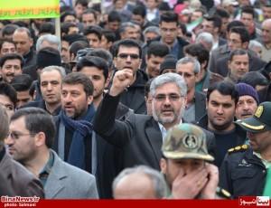 راهپیمایی 22 بهمن در منطقه آزاد ماکو/ تصاویر