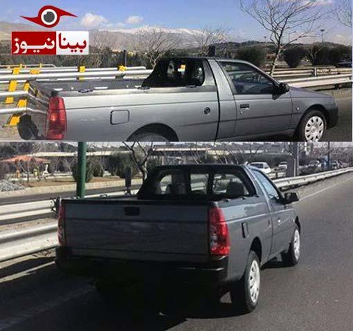 paersia1 وانت پرشیا, محصولی متفاوت از ایران خودرو/ تصاویر