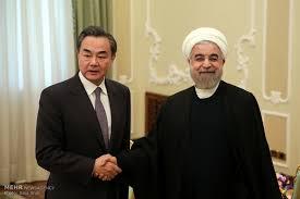 دیدار رییسجمهور با وزیرخارجه چین