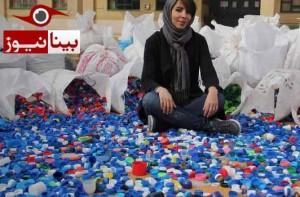 یک کمپین متفاوت در تبریز: با سر بطری، ویلچر بسازید!
