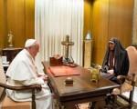 دیدار معاون رییسجمهور با پاپ/تصاویر