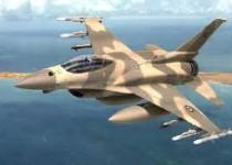 پرواز یک جنگنده با سرعت بالا و ارتفاع پایین در تهران