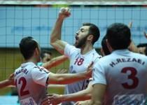 پایان مرحله پلی آف لیگ برتر والیبال با صعود شهرداری ارومیه،تبریز، میزان و پیکان
