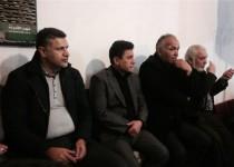 حضور علی دایی و قلعهنویی در هیات عزاداری در ایام فاطمیه/ عکس