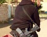 ابوعزرائیل با تبر و شمشیر در جنگ با تکفیریهای داعش/تصاویر