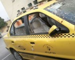 افراطیها تاکسی حامل علی مطهری در شیراز را به این روز انداختند