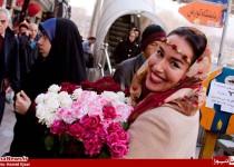زیباترین دختر گلفروش تهران/ 21عکس
