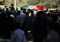 پیکر شهید داناییفر به خاک سپرده شد