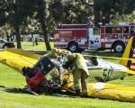 هواپیمای شخصی بازیگر سرشناس هالیوود سقوط کرد
