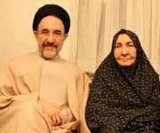 همسر آیت الله خاتمی در بیمارستان بستری شد