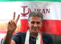 خداحافظی كيروش با تیم ملی فوتبال ايران
