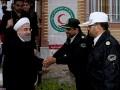 بازدید سرزده روحانی از پلیس راه و اورژانس
