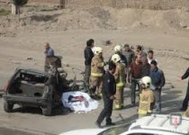 6 کشته در تصادف تریلر با رنو پی کی