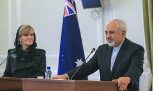 کنفرانس خبری دکتر جواد ظریف و وزیر امور خارجه استرالیا